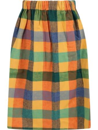 Wolf & Rita Multicolor ''lured'' Skirt For Girl