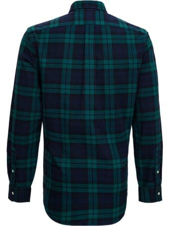 Polo Ralph Lauren Cotton Check Shirt With Logo