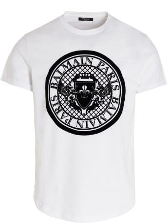 Balmain 'coin Flock' T-shirt