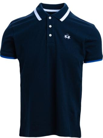 La Martina La Martina Cotton Blend Polo Shirt