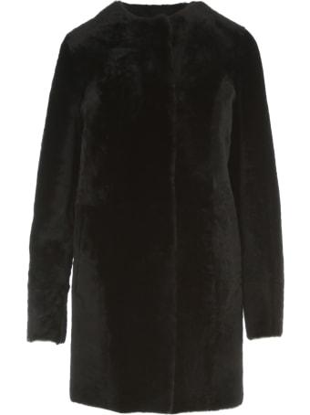 DRM Midi Shearling Coat