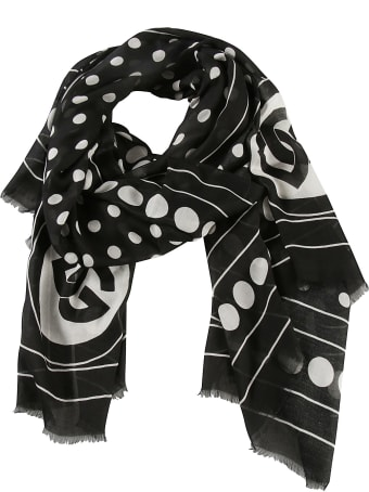 Dolce & Gabbana Spotted Print Scarf
