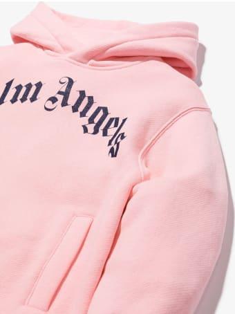 Palm Angels Pink Cotton Sweater Dress
