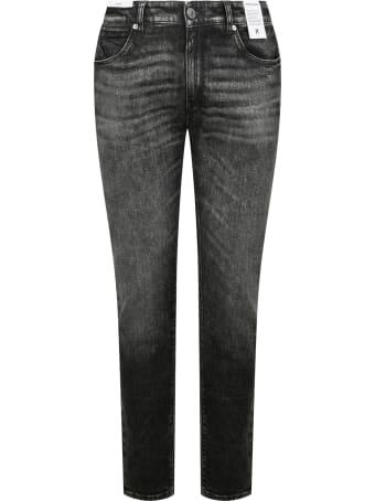 PT01 Jeans Stretch Vintage Nero