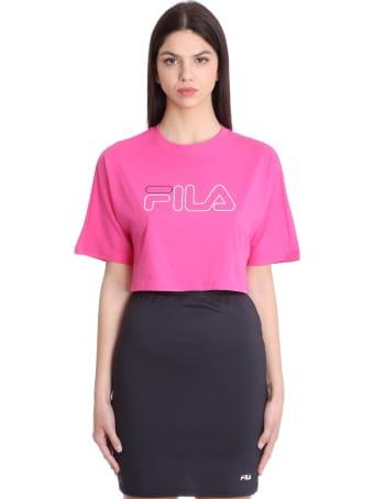 Fila Jamielle T-shirt In Fuxia Cotton