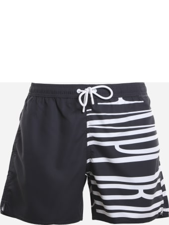 Emporio Armani Swimsuit With Contrasting Print