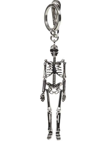 Alexander McQueen Skeleton Key Ring