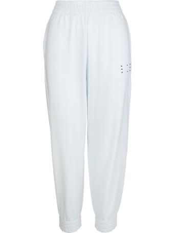 McQ Alexander McQueen Woman Light Mint Slim Fit Joggers With Logo