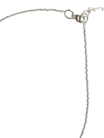 Fabiana Filippi Hook-lock Fringe Necklace