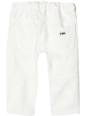 Emporio Armani White Jeans