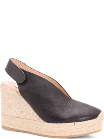 Ras 'butter' Leather Wedges