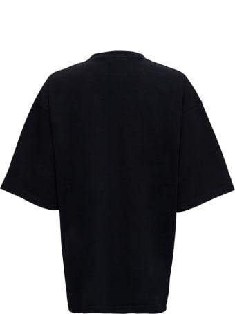"Balenciaga ""free"" Black Jersey T-shirt"