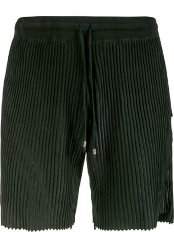 Maison Flaneur Ribbed Shorts