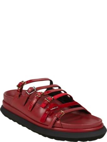 Sacai Multi-strap Sandals