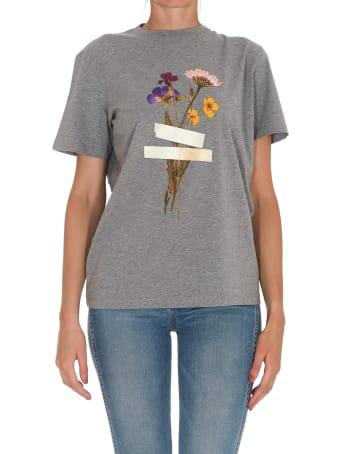 Golden Goose Taped Floral Print T-shirt