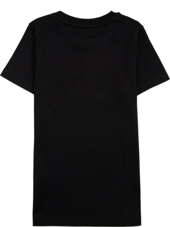 Givenchy Black Cotton T-shirt With Print
