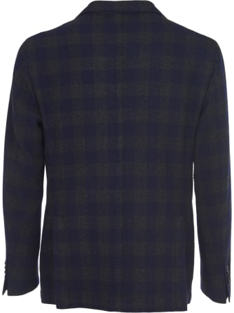 L.B.M. 1911 Blue And Green Checkered Jacket
