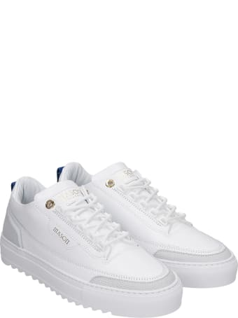 Mason Garments Firenze Sneakers In White Leather