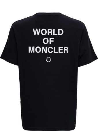Moncler Genius World Of Moncler Black Tee By Frgmt Hiroshi