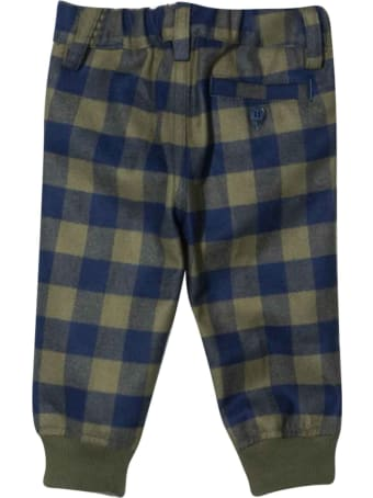 Il Gufo Trousers With Checked Percale Pattern