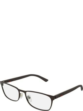 Gucci Gucci Gg0425o Brown Glasses