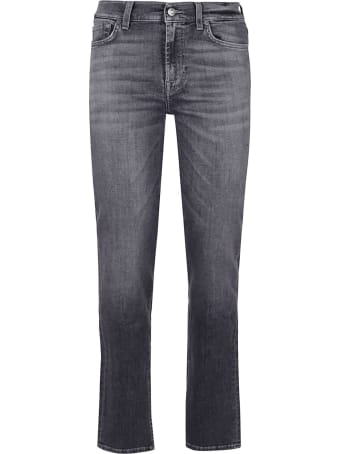 7 For All Mankind The Straight Soho Grey