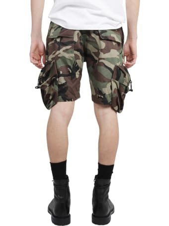 Mouty Camo Military Bermudas