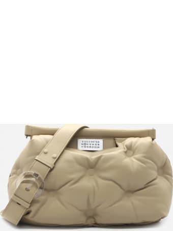 Maison Margiela Shoulder Bag In Quilted Leather