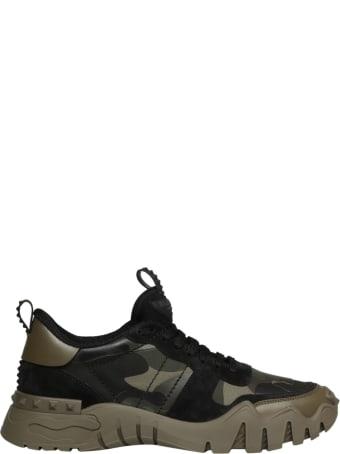 Valentino Garavani Rockrunner Plus Camouflage Sneaker