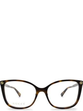 Gucci Gucci Gg0026o Havana Glasses