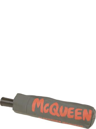 Alexander McQueen Umbrella Mcqueen Graffiti