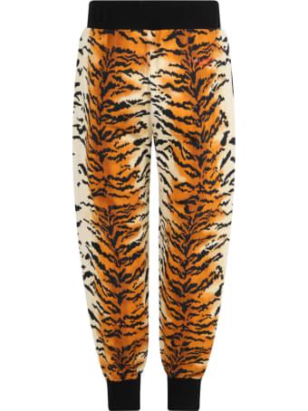 Philosophy di Lorenzo Serafini Multicolor Trouser For Girl With Logo