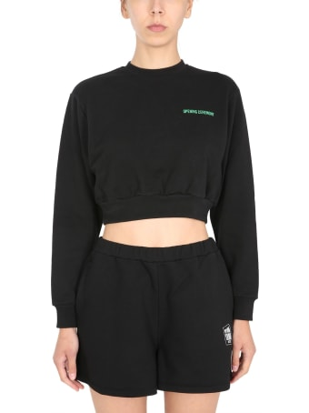 Opening Ceremony Cropped Sweatshirt