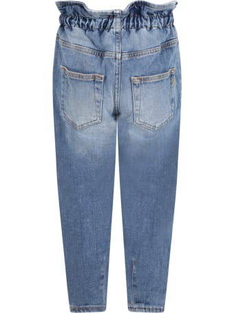 Dondup Light Blue Jeans For Girl