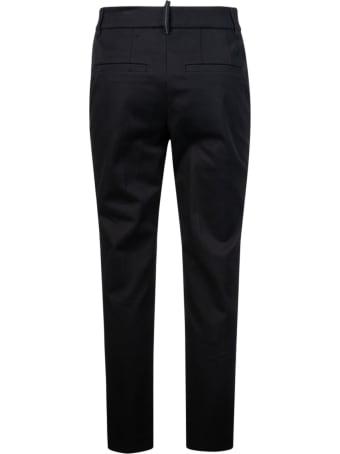 Brunello Cucinelli Regular Fit Plain Trousers