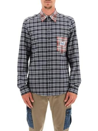 Dolce & Gabbana Tartan Flannel Shirt