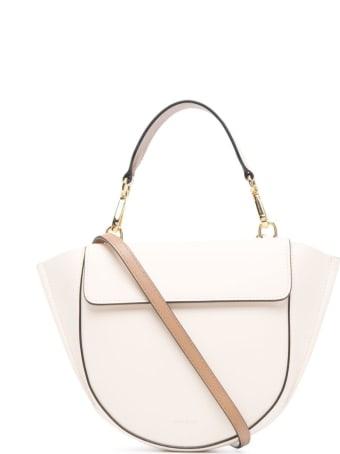 Wandler Hortensia Mini Handbag In White Leather