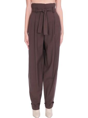 WANDERING Pants In Brown Wool