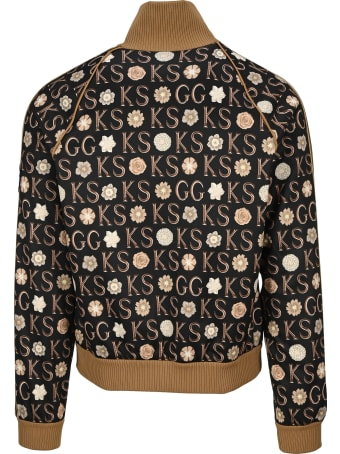 Gucci Ken Scott X Print Zip-up Jacket