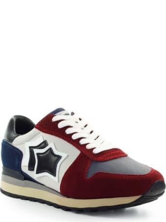 Atlantic Stars Argo Red Blue Grey Sneaker
