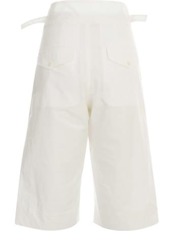 Y's Popeline Gurkha Halp Pants