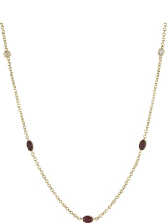 Lo Spazio Jewelry Lo Spazio Ruby and Diamond Necklace