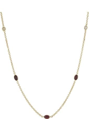 Lo Spazio Jewelry Lo Spazio Ruby and Diamond Necklace