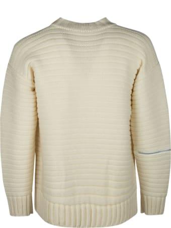 Sacai Zipped Pocket Knit Sweater