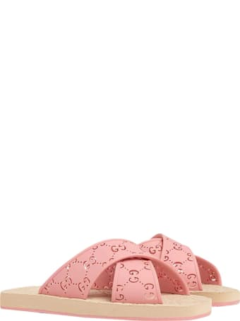 Gucci Slides With Gg Monogram