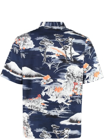 Universal Works Printed Short Sleeve Shirt