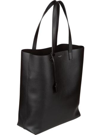 Saint Laurent Logo Open Shopper Bag