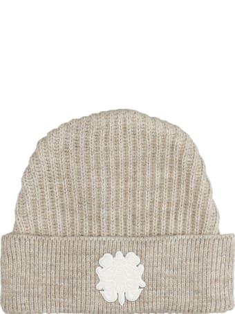 Bonsai Hats In Beige Wool