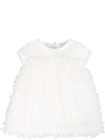 Little Bear Ivory Dress For Babygirl