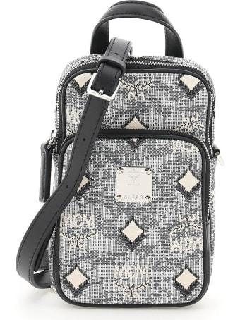 MCM N/s Shoulder Bag In Vintage Monogram Jacquard